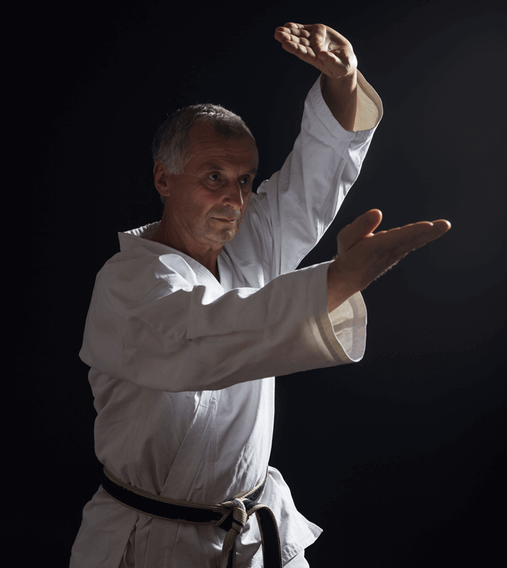 Martial Arts Lessons for Adults in Middle River MD - Older Man