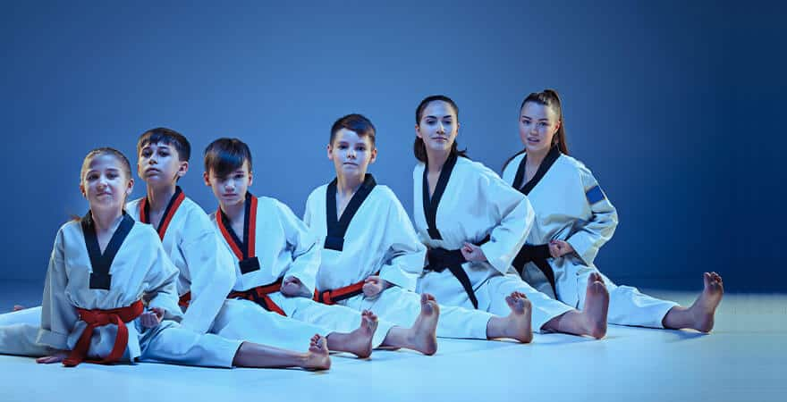 Martial Arts Lessons for Kids in Middle River MD - Kids Group Splits