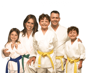 Martial Arts Lessons for Families in Middle River MD - Group Family for Martial Arts Footer Banner
