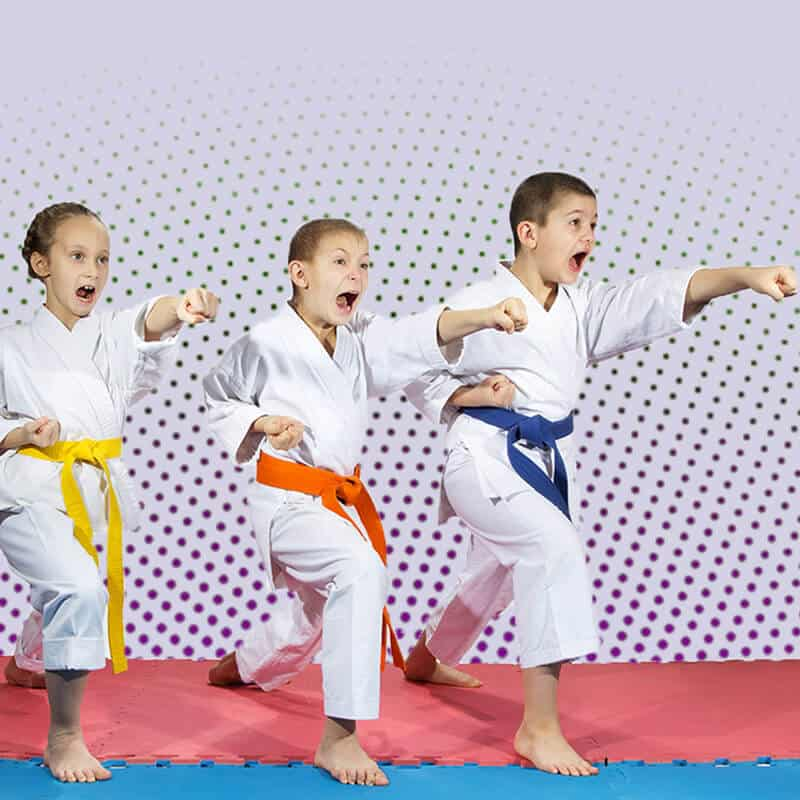 Martial Arts Lessons for Kids in Middle River MD - Punching Focus Kids Sync