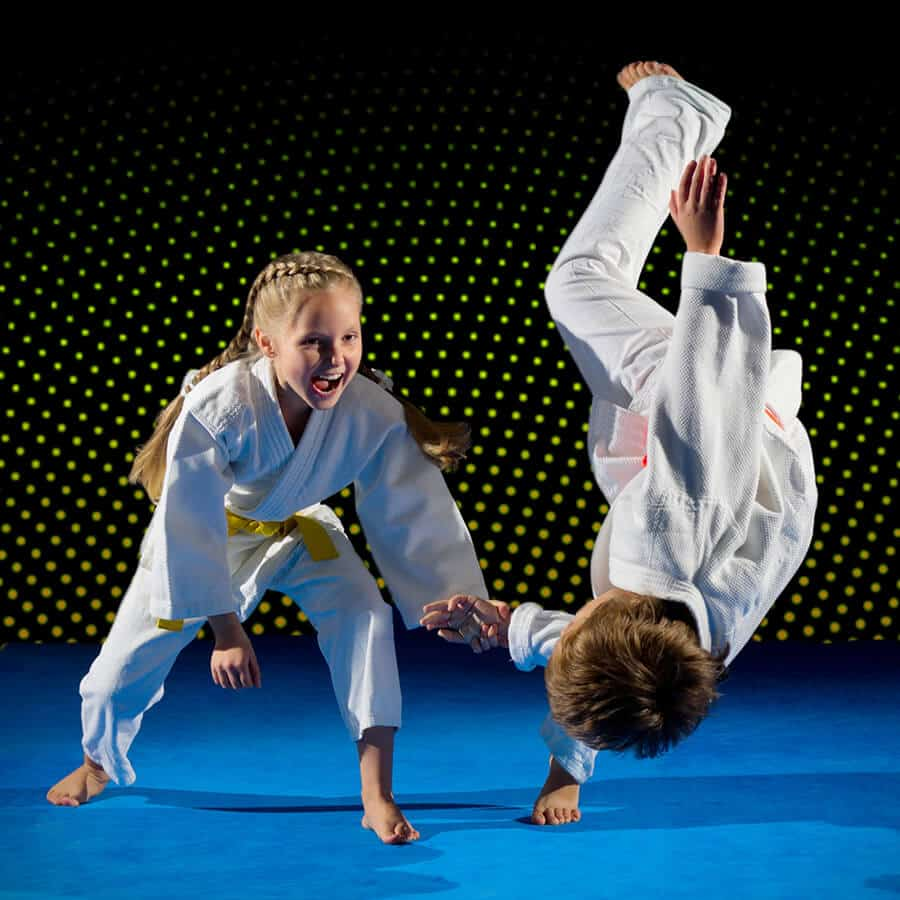 Martial Arts Lessons for Kids in Middle River MD - Judo Toss Kids Girl