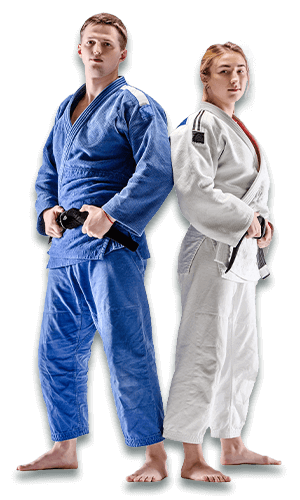 Brazilian Jiu Jitsu Lessons for Adults in Middle River MD - BJJ Man and Woman Banner Page