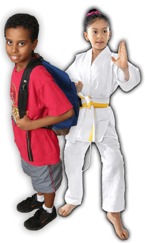 After School Martial Arts Lessons for Kids in Middle River MD - Backpack Kids Banner Page