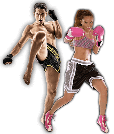 Fitness Kickboxing Lessons for Adults in Middle River MD - Kickboxing Men and Women Banner Page