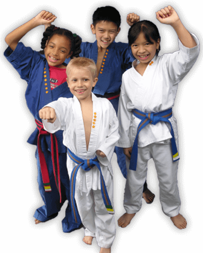 Martial Arts Summer Camp for Kids in Middle River MD - Happy Group of Kids Banner Summer Camp Page